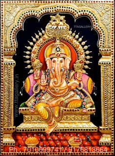 Ganesh Images, Ganesha Pictures, Ganesh Statue, Shri Ganesh, Blue Wallpaper Iphone, Colorful Wallpaper, Saraswati Devi, Lord Rama Images, Hindu Statues