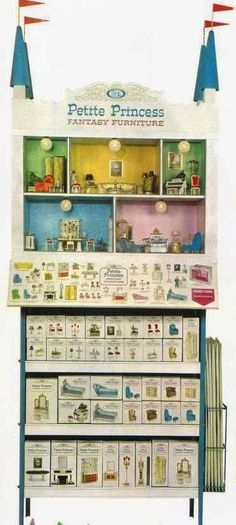 1964 Ideal Toy Company Created A New Line Of Dollhouse Furniture U2013 Petite  Princess Z