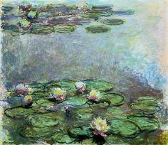 Resultado de imagem para claude monet the waterlily pond green harmony