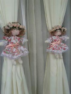 Abraçadeiras decorativas para cortina