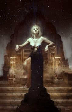 ArtStation - NIGHT'S SORCERIES, Bastien Lecouffe Deharme