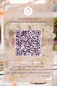 Be sure to check out our WeddingWire listing! There is lots of great information for you to see.