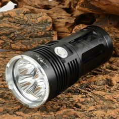 3200lm 3-Mode White Light LED Flashlight w/ Strap - Black (2 x 18650 / 4 x 18650). Suitable for camping, hiking, hunting and fishing, etc.. Tags: #Lights #Lighting #Flashlights #LED #Flashlights #18650 #Flashlights