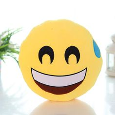 Who doesn't love emojis? I do and so do a lot of kids. These cute emoji pillows are excellent, they are soft, comical, bright and super fluffy. Absolutely a good decorative pillow for your sofa and be