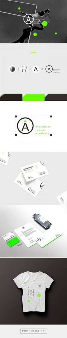 Athlopolis Tennis Academy on Behance | Fivestar Branding – Design and Branding Agency & Inspiration Gallery