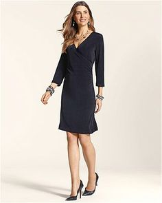 This season, we're thankful for eternally flattering, easy-to-wear wrap dresses. Travelers Classic Rosemary Wrap Dress, $99, Chico's