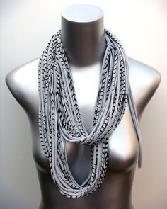 Necklush Infinity Scarf, in now at Silo American Made. Many more colors available, fashion-forward on a guy or a gal!