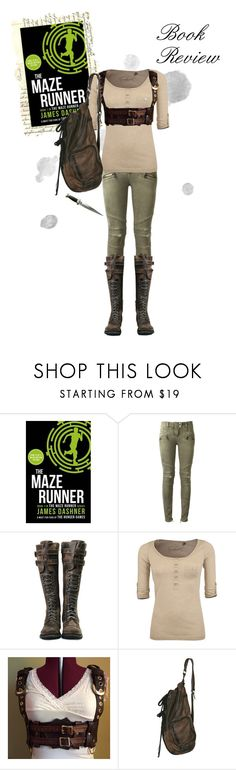 """Book Review: The Maze Runner by James Dashner"" by lily1996x ❤ liked on Polyvore featuring Balmain and Sublevel"