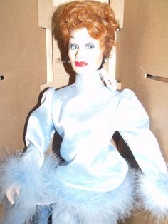 I Love Lucy Porcelain Walk of Fame Doll, Lucille Ball, Retired Doll! - Mint New! #HollywoodWalkofFAme #Dolls