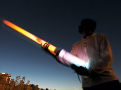 Spud Gun Night Cannon DIY (built using clear pvc, twice the price to build ($50) but it is crazy cool to watch the colors ignite at night!) **ignition is a stun-gun