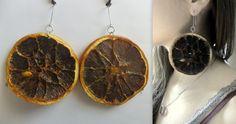 Handmade Earrings orange