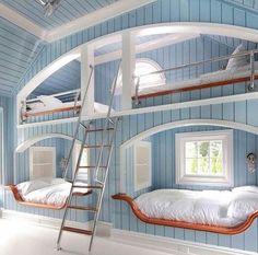 Schon Coole Schlafzimmer Ideen, Hochbetten Kinderzimmer, Gemütliches Schlafzimmer,  Schlafzimmer Einrichten, Wohnungseinrichtung, Platz