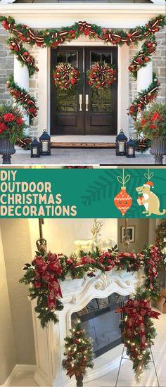 Best Outdoor Christmas Decoratıon Ideas 2020 #christmasgarden