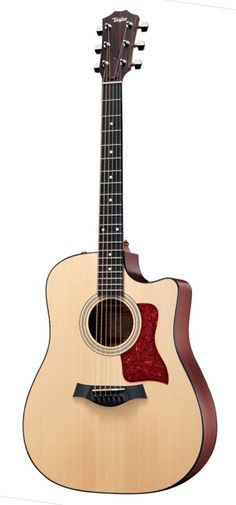 Taylor Guitars Dreadnought Acoustic Electric Guitar whoever buys me this I will in fact love you with all my heart lol Acoustic Guitar Notes, Fender Acoustic, Jazz Guitar, Fender Guitars, Guitar Amp, Taylor Guitars, Instruments, Beautiful Guitars, Vintage Guitars