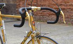 peugeot-py10-mafac-gold Road Bikes, Cycling Bikes, Bordeaux, Peugeot Bike, Garage Bike, Velo Vintage, Bike Components, Real Steel, Cool Bicycles
