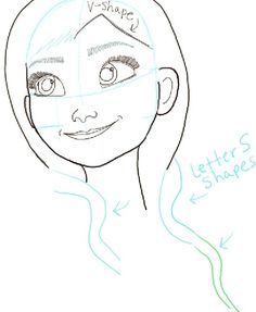 Step step09 princess anna frozen How to Draw Princess Anna from Frozen Step by Step Tutorial
