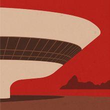 ARCHITECTURE - Brazil - andre chiote.illustration