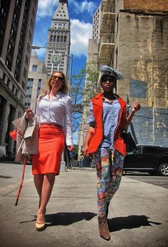 4649feee20134e Melissa Murphy of Broke  amp  Chic knows how to dress for the office! Office