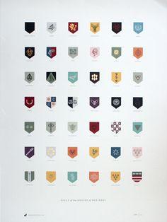 A Top Nike Designer Rebrands Game Of Thrones