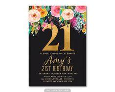 Download FREE 21st Birthday Invitations Wording