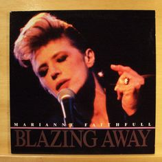 MARIANNE FAITHFULL - Blazing away - mint minus - Vinyl LP Sister Morphine Guilt
