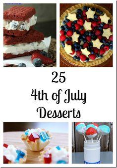 Enjoy 25 Fourth of July Red White & Blue Dessert Recipes - MomStart