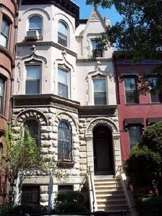 Beautiful Brownstones Of Bronx,NY Nyc Brownstone, Townhouse, Bronx Nyc, Empire State Of Mind, I Love Nyc, Brick Facade, City That Never Sleeps, Brick Building, Architecture Details
