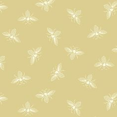 Bee Fabric, Gingham Fabric, Cotton Fabric, Andover Fabrics, Child Smile, Thing 1, Michael Miller Fabric, Laurel Burch, Beige Background