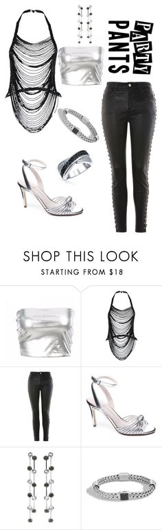 """""""#PolyPresents: Fancy Pants"""" by wastedstalker ❤ liked on Polyvore featuring Rare London, Topshop, Chinese Laundry, Kenneth Jay Lane, John Hardy, Bling Jewelry, contestentry and polyPresents"""