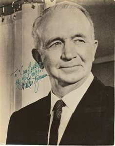 Walter Brennen  (July 25, 1894 – September 21, 1974). Born in Lynn, MA. Enlisted in US Army and served with 101st Field Artillery in France during WW I. Actor who won three Academy Awards. Best known for his role in the television series The Real McCoys, and films The Westerner, To Have and Have Not, and My Darling Clementine.