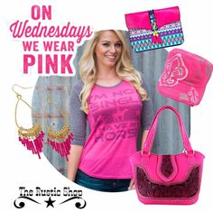 Hot Pink Cowgirl Outfit On Wednesdays We Wear Pink All from The Rustic Shop