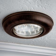 Battery Operated, Remote Control Ceiling Light!! No Electrical Work Needed!    Wireless. Closet LightingLed ...