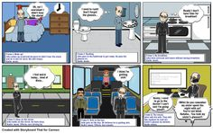 3.1 Movie Storyboard: The Mistake, This is another option to create comics or plan the scenes that will be part of the movie. In class, this activity will help students organize and plan all the steps before developing the shortfilm. Students will decide what to include or discard, so they need to choose and keep the relevant information