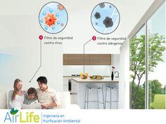 #airlife #aire #previsión #virus #hongos #bacterias #esporas #purificación  purificación de aire Airlife te dice. las afecciones de salud provocados por el aire acondicionado se deben principalmente a la sequedad del ambiente que generan, una temperatura excesivamente fría, ruidos y un mantenimiento deficiente de las instalaciones. http://airlifeservice.com/