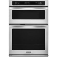Today Review - KitchenAid KEMS309B 30 Inch Wide 5.0 Cu. Ft. Combination Wall Oven with 1.4 Cu. Stainless Steel Ovens Single with Microwave