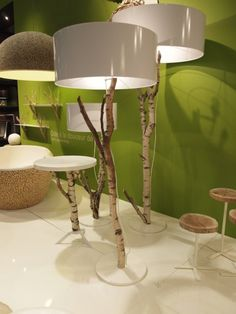 branch lamps.