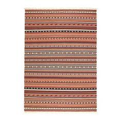 IKEA - KATTRUP, Alfombra, Cada pieza es única, ya que ha sido tejida a mano por artesanos expertos que trabajan en centros organizados de la India con condiciones laborales adecuadas y salarios justos.Al tener una superficie de lana duradera y que no se mancha con facilidad, esta alfombra es perfecta para el salón y el comedor.Como tiene el mismo diseño por los dos lados, podrás darle la vuelta para que dure más.Al tener una superficie lisa, resulta sencillo limpiarla con la aspiradora.