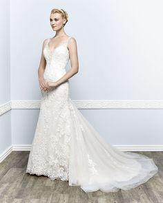Kenneth Winston Couture Style 1658 #weddingdress #bridal