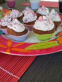 Cup cakes à la violette