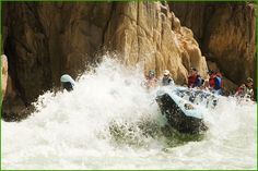Rafting the Grand Canyon. Might have to save this for last--in case I don't survive!
