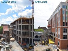 Check out Strong Hall, then and now!