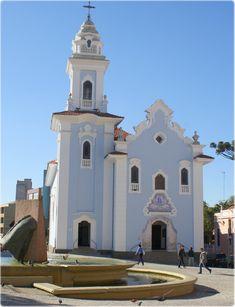 Igreja do Rosário dos pretos fundada pelos escravos africanos de Curitiba