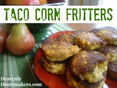 Taco Corn Fritters