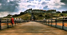 The pier at Saltburn-by-the-Sea, Yorkshire