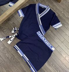 Birthday Outfit For Teens, Outfits For Teens, Trendy Outfits, Girl Outfits, Fashion Outfits, Chanel Outfit, Chanel Fashion, Chanel Style, Aesthetic Shirts