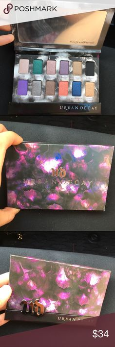 Urban Decay Eyeshadow Palette Brand new beautiful palette. Never used.  Gorgeous palette for special occasions :) Urban Decay Makeup Eyeshadow