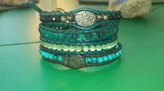 3 rows green agate mix Green Agate, The Row, Blue Green, Bracelets, Jewelry, Fashion, Moda, Jewlery, Duck Egg Blue