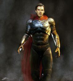 Benedict Cumberbatch (Dr. Strange Costume Concept Art)