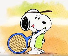CollectPeanuts.com on Facebook - Snoopy gears up for a tennis game! Will he be able to win against Woodstock? Find out in this video: https://youtu.be/t73uH_9vInc