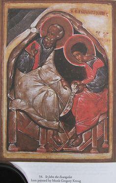 Św. Jan Ewangelista - Grigorij Krug